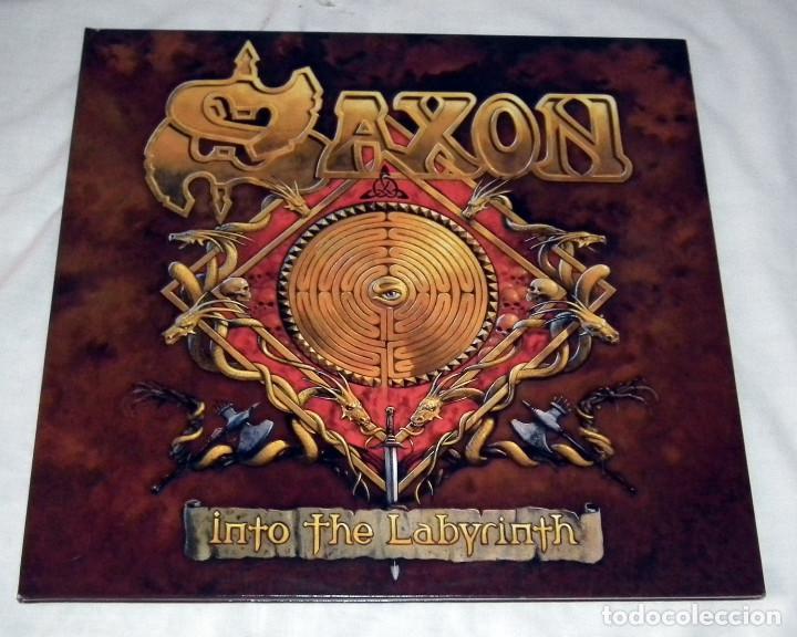 LP SAXON - INTO THE LABYRINTH (Música - Discos - LP Vinilo - Heavy - Metal)