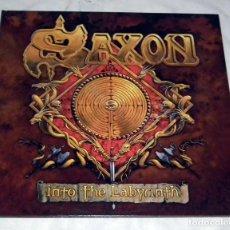 Discos de vinilo: LP SAXON - INTO THE LABYRINTH. Lote 161701302