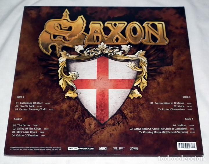 Discos de vinilo: LP SAXON - INTO THE LABYRINTH - Foto 2 - 161701302