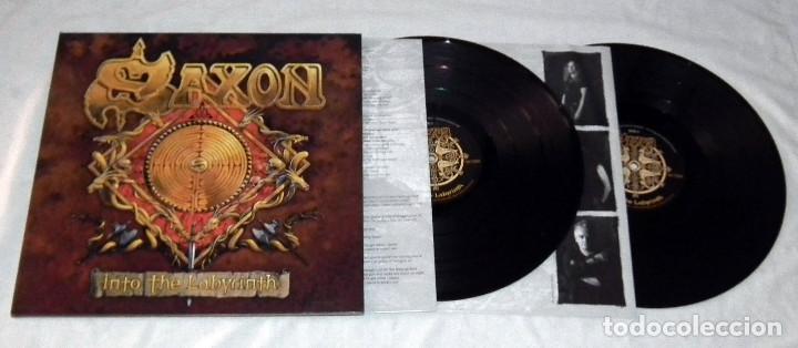 Discos de vinilo: LP SAXON - INTO THE LABYRINTH - Foto 3 - 161701302