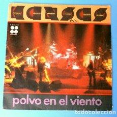 Discos de vinilo: KANSAS (SINGLE 1978) POLVO EN EL VIENTO - DUST IN THE WIND - PARADOX. Lote 161705530