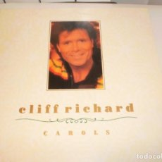 Discos de vinilo: LP CLIFF RICHARD. CAROLS. WORD 1988 UK (DISCO PROBADO Y BIEN, SEMINUEVO, NUNCA VENDIDO EN TC, LEER). Lote 161706930