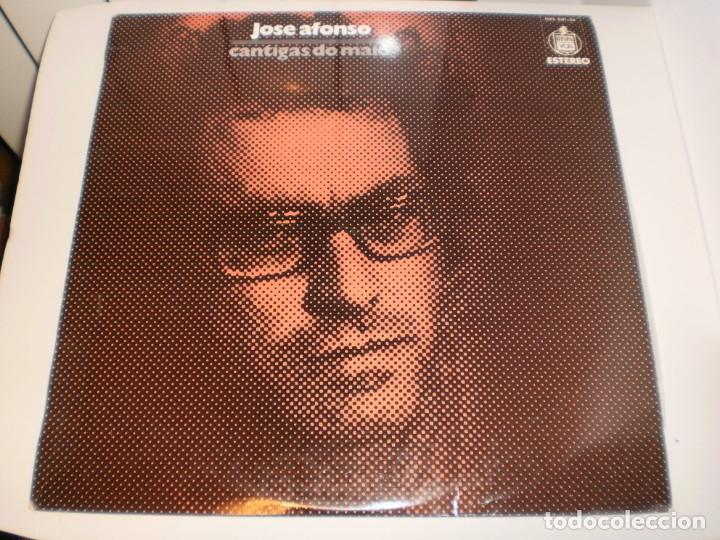 LP JOSÉ AFONSO CANTIGAS DO MAIO. HISPAVOX 1974 SPAIN ENCARTE (TIENE GRANDOLA VILA MORENA, SEMINUEVO) (Música - Discos - LP Vinilo - Cantautores Internacionales)