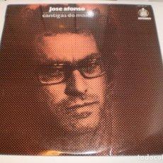 Discos de vinilo: LP JOSÉ AFONSO CANTIGAS DO MAIO. HISPAVOX 1974 SPAIN ENCARTE (TIENE GRANDOLA VILA MORENA, SEMINUEVO). Lote 161708306
