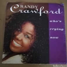 Discos de vinilo: RANDY CRAWFORD - WHO'S CRYING NOW. Lote 161715208