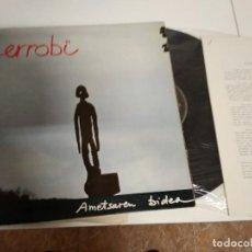 Discos de vinilo: ERROBI / AMETSAREN BIDEA / LP 33 RPM PORTADA DOBLE CON INSER / XOXOA 1979. Lote 161721418