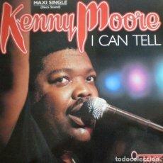 Discos de vinilo: KENNY MOORE ?– I CAN TELL (ESPAÑA, 1987). Lote 161724322