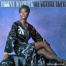 Discos de vinilo: DIONNE WARWICK ?– HEARTBREAKER (ESPAÑA, 1982). Lote 161726514
