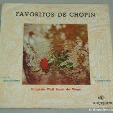 Discos de vinilo: FAVORITOS DE CHOPIN - 1964 - DISCORAMA D 3014 - WALTER SHERMANN. Lote 161726878