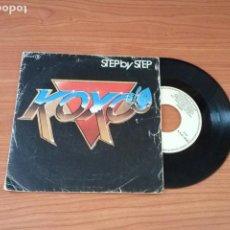 Discos de vinilo: SINGLE - KOXO – STEP BY STEP - YEAR 1983 - EDITION SPANISH. Lote 161748086