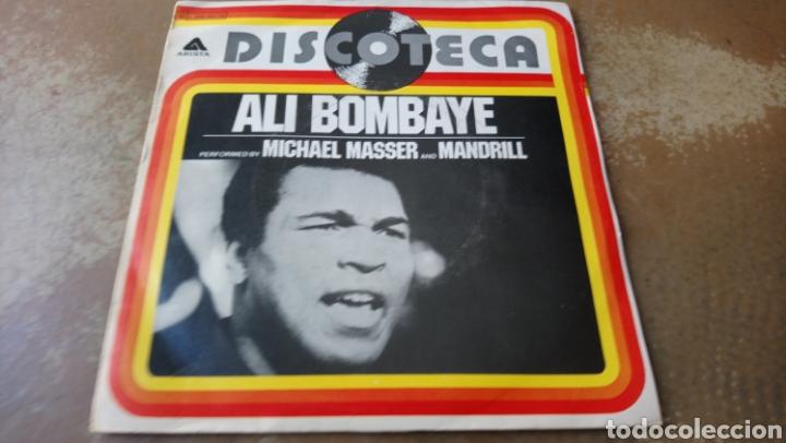 MICHAEL MASSER AND MANDRILL, ALI BOM-BA-YE. SINGLE VINILO BUEN ESTADO. (Música - Discos - Singles Vinilo - Jazz, Jazz-Rock, Blues y R&B)