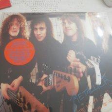 Discos de vinilo: METALLICA / LP VINILO NARANJA / GARAGE DAYS RE-REVISITED, THE $5,98 E.P.. Lote 161749324