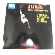 Discos de vinilo: SINGLE. RAPHAEL. TU CONCIENCIA / PRECISAMENTE TU. 1963. BARCLAY. Lote 161759370