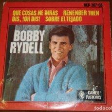 Discos de vinilo: BOBBY RYDELL. - QUE COSAS ME DIRÁS + 3 - EP - CAMEO PARKWAY/HISPAVOX HCP 267-03 - 1963. Lote 161762702