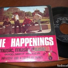 Discos de vinilo: THE HAPPENINGS - MUSIC , MUSIC , MUSIC + 3 EP 1968-SONOPLAY. Lote 161763682