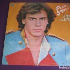 Discos de vinilo: PEDRO MARIN LP HISPAVOX 1980 PRECINTADO - SU 1ER LP - FANS - MIGUEL BOSE - PECOS - IVAN - CON POSTER. Lote 161764406