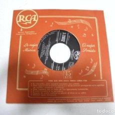 Discos de vinilo: SINGLE. TONY MARTIN. AQUI / EXTRAÑO EN EL PARAISO / FILOSOFIA / ME GUSTA PARIS. Lote 161764750
