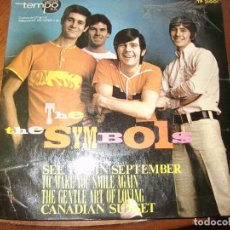 Discos de vinilo: THE SYMBOLS - SEE YOU IN SEPTEMBER FREAKBEAT MOD SPANISH EP 45 SPAIN 1967. Lote 161767446