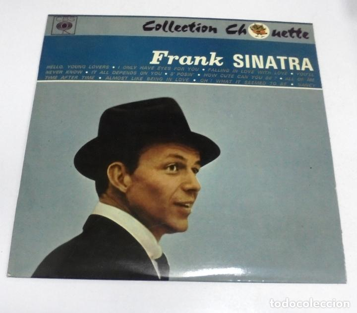 LP. FRANK SINATRA. COLLECTION CHOUETTE. HELLO YOUNG LOVERS / ALL OF ME. CBS (Música - Discos - LP Vinilo - Cantautores Extranjeros)