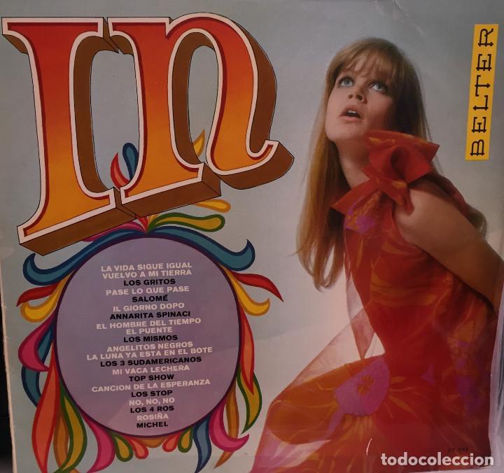 IN - LOS GRITOS-LOS MISMOS-LOS 3 SUDAMERICANOS-LOS STOP , ETC.- BELTER - 1968 (Música - Discos - LP Vinilo - Grupos Españoles 50 y 60)
