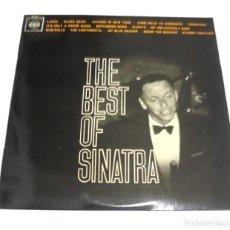 Discos de vinilo: LP. THE BEST OF SINATRA. LAURA / BLUES SKIES. CBS. Lote 161772222