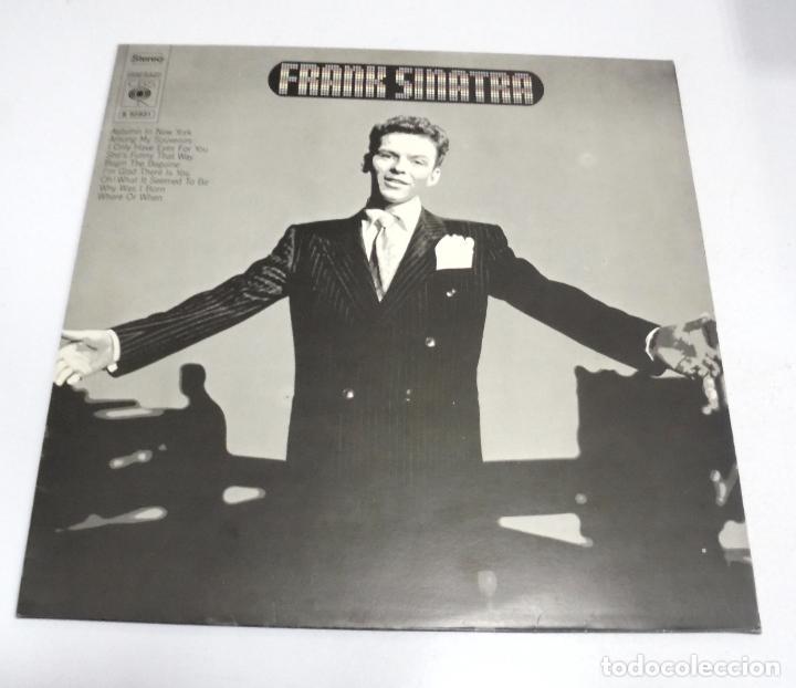LP. FRANK SINATRA. AUTUMN IN NEW YORK. CBS (Música - Discos - LP Vinilo - Cantautores Extranjeros)