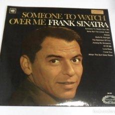 Discos de vinilo: LP. FRANK SINATRA. SOMEONE TO WATCH OVER ME. CBS.. Lote 210541486