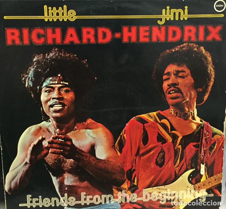 RICHARD - HENDRIX - LITTLE RICHARD Y JIMI HENDRIX - DISCOPHON - EMBER - 1978 (Música - Discos - LP Vinilo - Pop - Rock - Internacional de los 70)