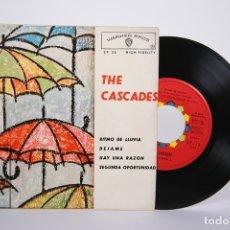 Discos de vinilo: DISCO EP DE VINILO - THE CASCADES / RITMO DE LLUVIA, DEJAME... - WARNER BROS - 1963. Lote 161795481