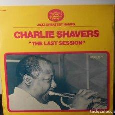 Discos de vinilo: CHARLIE SHAVERS THE LAST SESSION LP BELTER ESPAÑA 1976. Lote 161816430