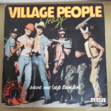 Discos de vinilo: VILLAGE PEOPLE - SLEAZY. Lote 161818202