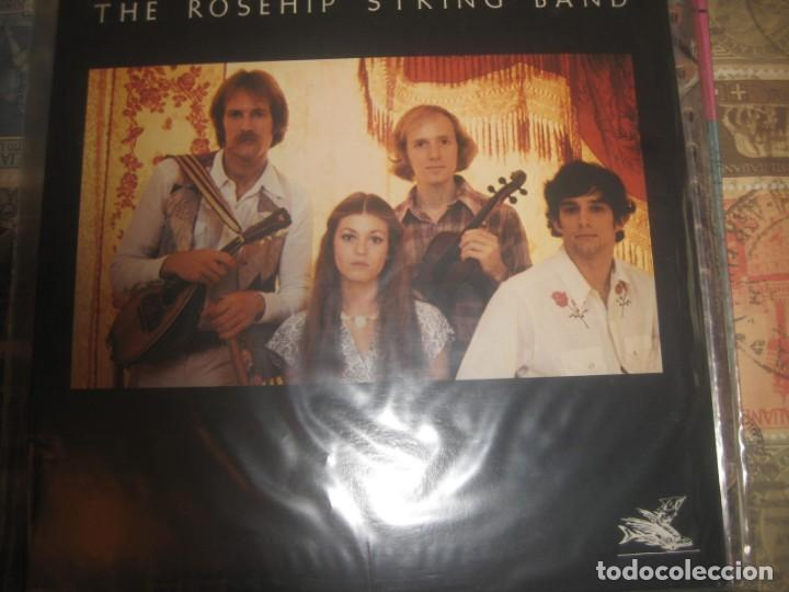 THE ROSEHIP STRING BAND ‎– THE ROSEHIP STRING BAND (FLYING FISH 1976) OG USA (Música - Discos - LP Vinilo - Pop - Rock - Extranjero de los 70)