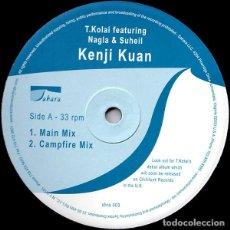 Discos de vinilo: T. KOLAI – KENJI KUAN / SAHARA / 2003. Lote 161825738