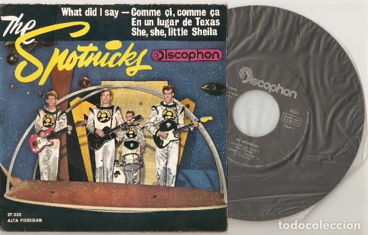 the spotnicks 7 spain 45 spanish ep 1963 what d - Comprar