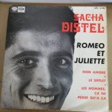 Discos de vinilo: SACHA DISTEL - ROMEO ET JULIETTE + 3. Lote 161830896