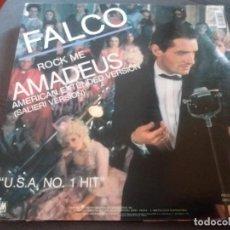Discos de vinilo: FALCO - ROCK ME AMADEUS (AMERICAN EXTENDED VERSION). Lote 161832498
