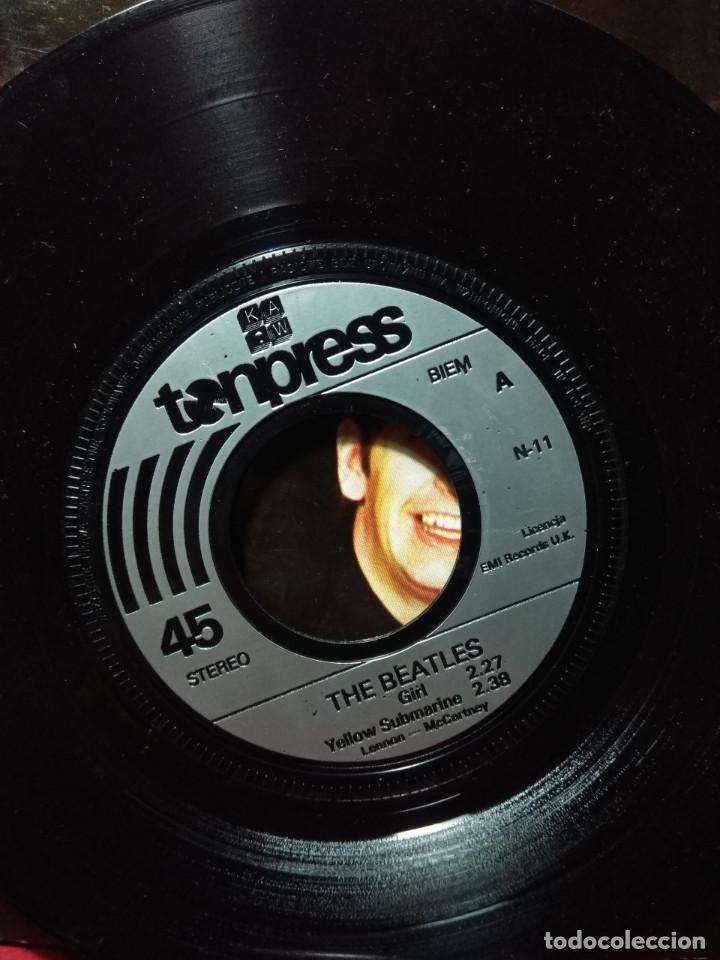 Discos de vinilo: DOBLE EP THE BEATLES ( EDICION POLONIA) 7 CANCIONES, EXCELENTE SONIDO - Foto 6 - 161835634