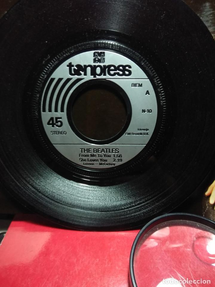 Discos de vinilo: DOBLE EP THE BEATLES ( EDICION POLONIA) 7 CANCIONES, EXCELENTE SONIDO - Foto 7 - 161835634