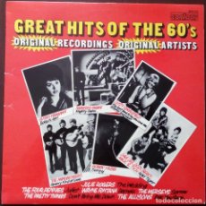Discos de vinilo: VARIOUS... GREAT HITS OF THE 60'S.(CONTOUR ?1970.) UK. Lote 161841746