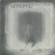 Discos de vinilo: METROPOLI, VIAJE MISTERIOSO. FONOMUSIC 1986. -SINGLE-. Lote 161847334