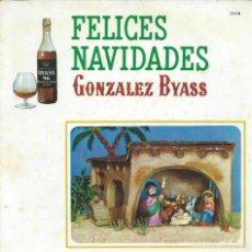Discos de vinilo: GONZALEZ BYASS,(ARTISTA DESCONOCIDO). 1967. -FLEXI 33RPM,GATEFOLD TROQUELADA EN EL INTERIOR-. Lote 161848482