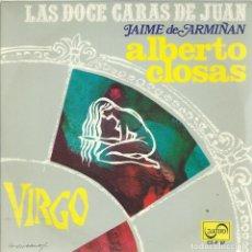 Discos de vinilo: ALBERTO CLOSAS, VIRGO. ZAFIRO,1968.. Lote 161849722