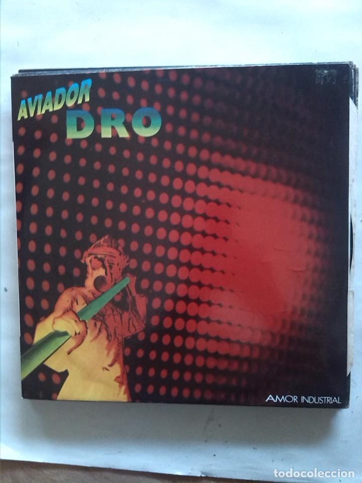 AVIADOR DRO AMOR INDUSTRIAL (Música - Discos de Vinilo - Maxi Singles - Grupos Españoles de los 70 y 80)