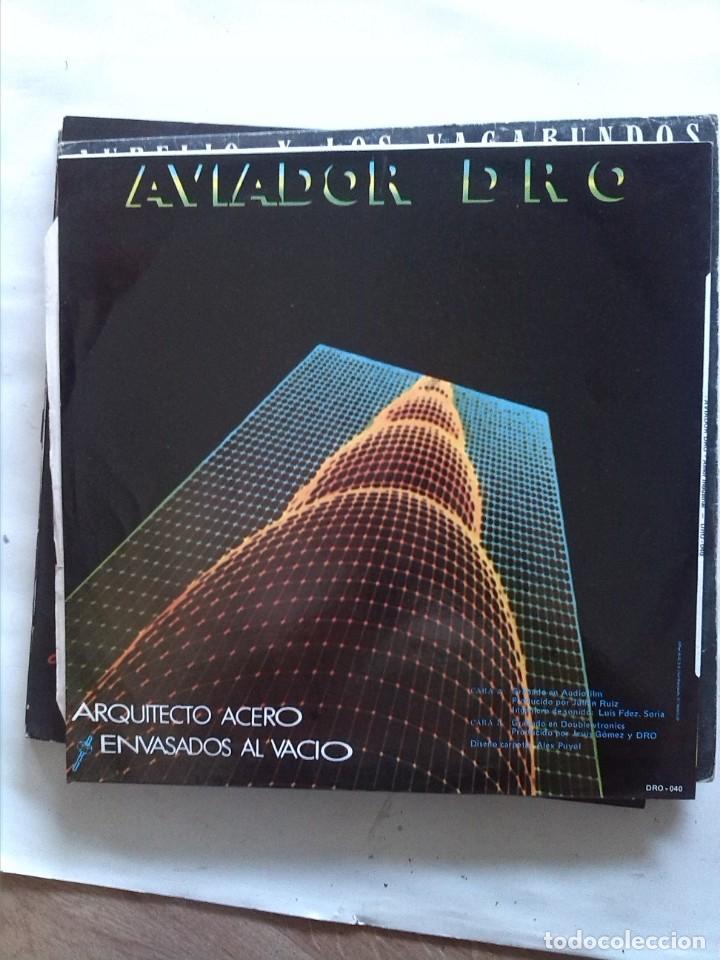 Discos de vinilo: AVIADOR DRO AMOR INDUSTRIAL - Foto 2 - 161851638