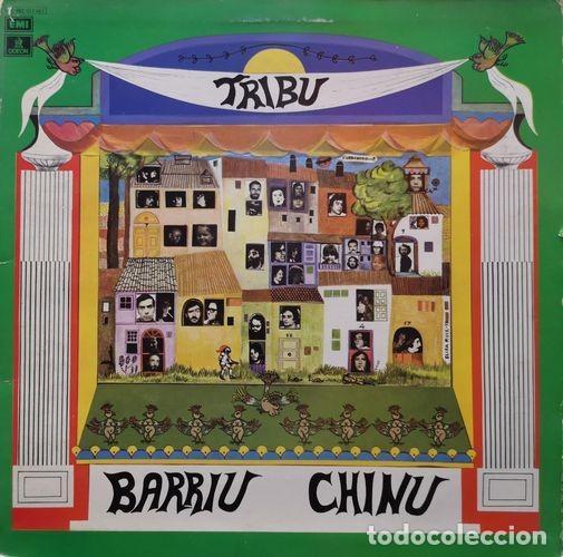 TRIBU - BARRIU CHINU - LP DE VINILO 1ª EDICION CON PORTADA ABIERTA (Música - Discos - LP Vinilo - Grupos Españoles de los 70 y 80)