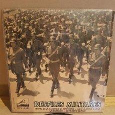 Discos de vinilo: BANDA DE LA POLICIA ARMADA Y DE TRÁFICO DE BARCELONA / DESFILES MILITARES / EP-1961 / MBC. ***/***. Lote 161865686