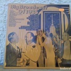 Discos de vinilo: BIG BROADCAST OF 1935. Lote 161865710