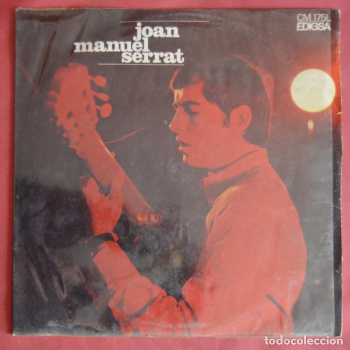 JOAN MANUEL SERRAT - ELS SETZE JUTGES - EDIGSA 1967 (Música - Discos - LP Vinilo - Cantautores Españoles)