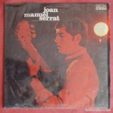 Discos de vinilo: JOAN MANUEL SERRAT - ELS SETZE JUTGES - EDIGSA 1967. Lote 161869186