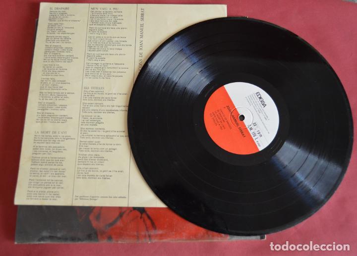 Discos de vinilo: JOAN MANUEL SERRAT - ELS SETZE JUTGES - EDIGSA 1967 - Foto 3 - 161869186